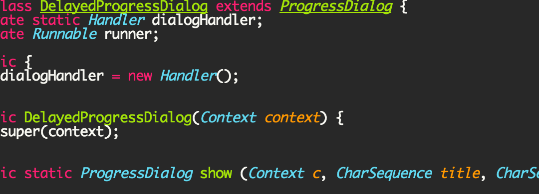 Android ProgressDialog with Delay